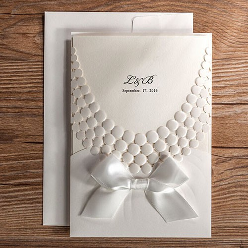 "IB1086.- Invitación "" Pretty Pearls"""