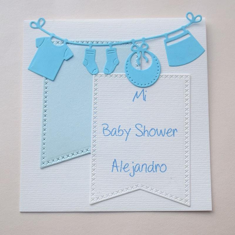 """Invitación para Baby Shower y Bautizo """"Entrenando"""""""