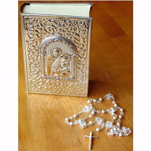 Biblia Y Matrimonio : Biblia chica y rosario para boda quot la sagrada familia