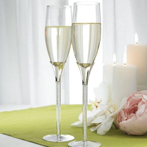 """Copas de boda """"Distinción y piedras de cristal"""""""