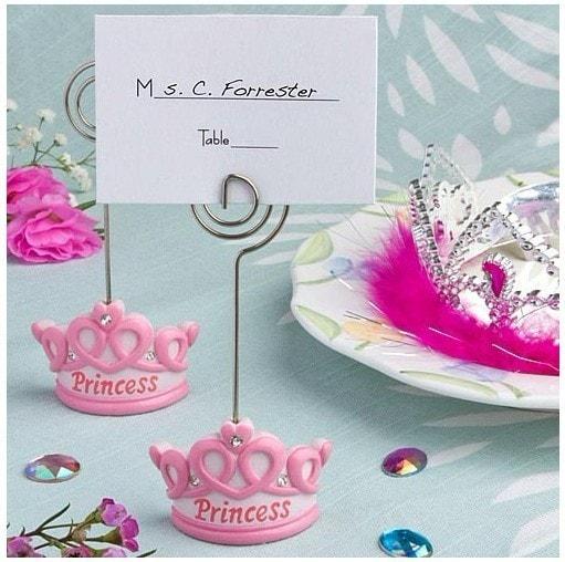 "Portafotos e identificador ""Princess & Prince""."