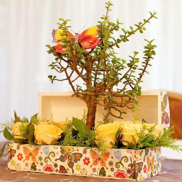 Centro para mesa de boda